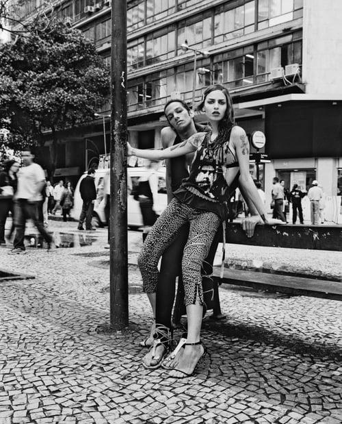 Tropical Punk - a political fashion editorial against corruption in Brazil. RAW stuff for Vizoo mag   by Christian Gaul, Roberta Stamatto, Alexandra Escafura