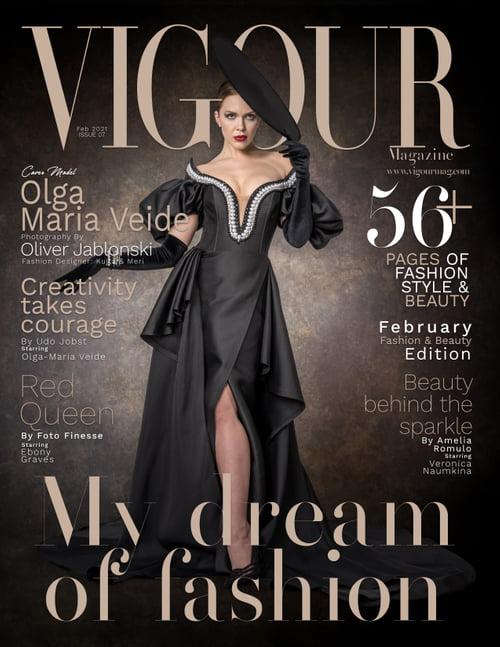 Work  by Vigour Magazine, Oliver Jablonski, Olga-Maria Veide, Petra Jablonski, Kujta & Meri
