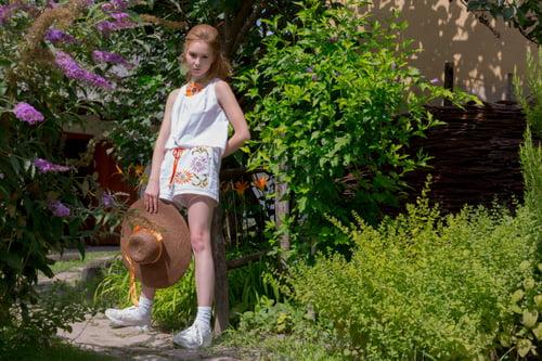 Beauty of the Hungarian summer Modern Folkart Recycled Collection   by Réka Orosz, Eszter Hercsik, Zoltán Dévai, Agnes Domonkos, Nora Deres