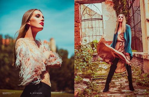 Work  by George Buczko, Lynzi Judish, Jute Magazine, Kristyna Hoskova, Laura Banani