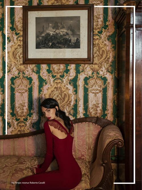 L'Officiel Azerbaijan - Winter in castle   by Virginia Di Mauro, Petra Semes