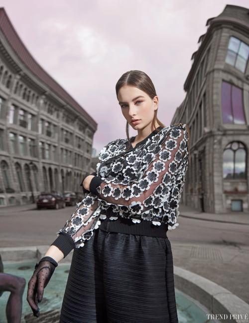 Work  by Trend Privé Magazine, Alexandre Paskanoi, Leanne Hunter, Elena Kamlyk, Sammie M, Gabbie
