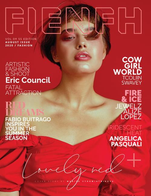 Work  by Fienfh magazine