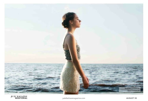 Corina published in Jute Magazine    by Ashley Luna, Corina Jaffarian, Gregory T. Hollar