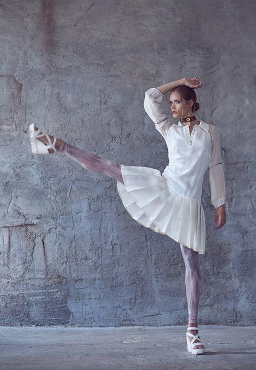 Work  by Andrey Osy Losevich, Dace Aleksandravica, ELEGANT Magazine, Freyja Models