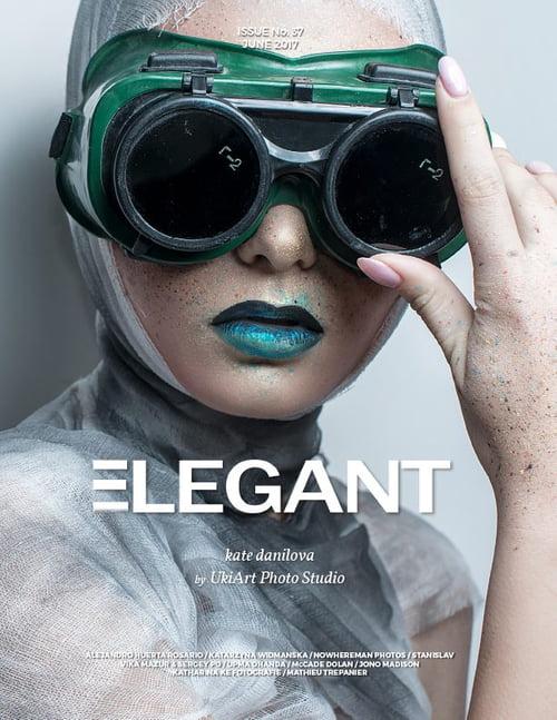 Work  by Sergey Po, ELEGANT Magazine, Vika Mazur, Kate Danilova, Felix Shtein