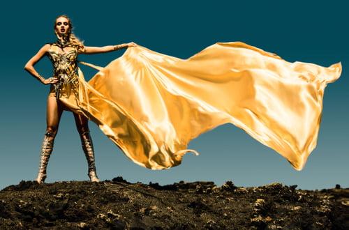 Power Girl   by Ivonne Carlo Sellés Starbuck, Divamp Couture & Miss Aniela, Minna Attala, Miss Aniela, Monika Gocman, Elbie Van Eeden, Elbie van Eeden