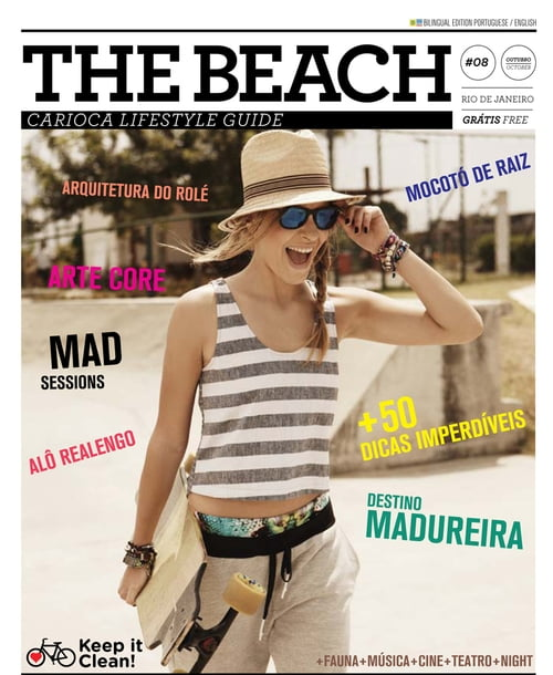 This is a Magazine I used to publish in Rio/Brazil. Would love to do the same here in Berlin, for Europe. Any one wanna join?   by Christian Gaul