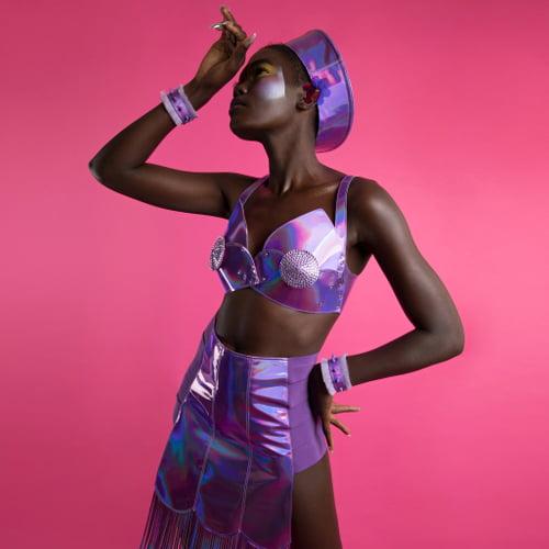 Work  by Tia Oguri, Gift Nyakuta, Ada Zanditon Couture