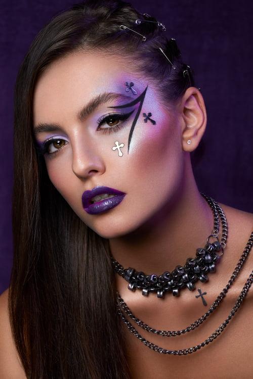 "Editorial ""But it isn't for y'all"" for Make-Up Trendy | Model: Gabriela Ocłoń | MUA: Agini Makeup Artist of MUA Familia   by Focused On Beauty, Agnieszka Krzyzowska, Gabriela Ocłoń"