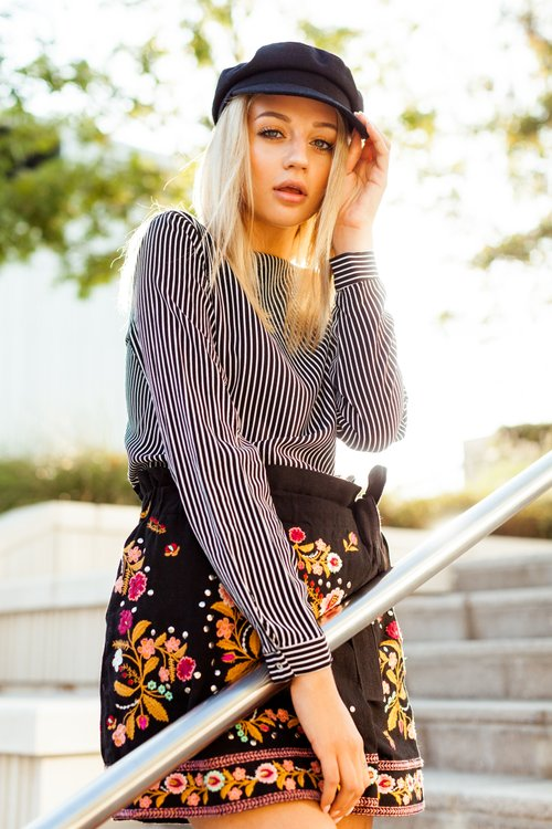 Marie in Downtown Dallas   by Kelly Sparks, Erin Endres, Marie Charlotte Clark