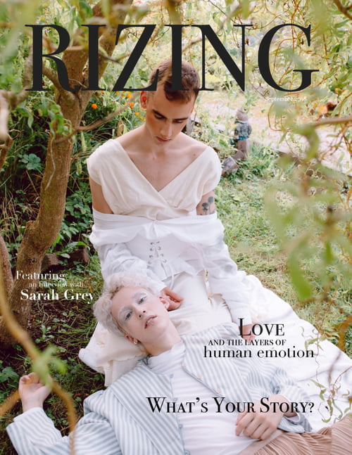 September 2018 Cover   by RIZING MAGAZINE, Alex Zenchuk, Allison Taylor, Ellix Cain , Lukas Daase, Madi Mckaily