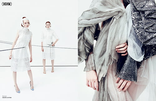 Work  by VGXW Magazine Team, VGXW Magazine, Elena Goi, Anna Yachinkovskaya  , Tatiana Perova, Anastasia Devyatkina