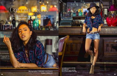 Coyote Pretty Tearsheet   by Gerard Santiago, Avie Liu