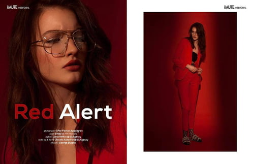 Work  by George Buczko, Per Florian Appelgren, iMute Magazine, Hilal @ M4 Models Management Gmbh, Lana Riffkin, Claudia Astorino, Institute Magazine
