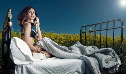 Work  by Iván RDC Photography, Eluska Leibar Alkorta, Lady Scissors, Apropos Make Up , Intimissimi Lingerie