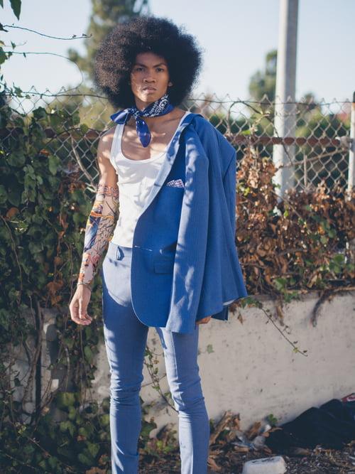Work  by Isaac Alexander, Pharoah Brand Fashion, Megan Landry, Joniel Quebral Lemley