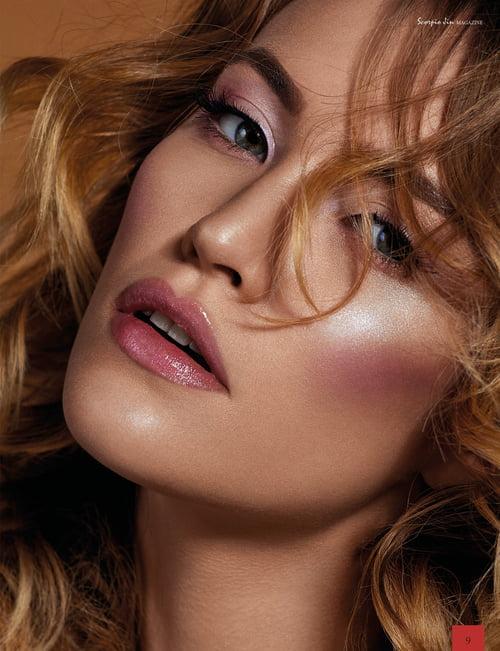 Work  by Scorpio Jin Magazine, Focused On Beauty, Agnieszka Krzyzowska, Kateryna Pasko, Wiktoria Krzepkowska