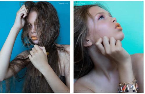Work  by Dace Aleksandravica, Elléments Magazine