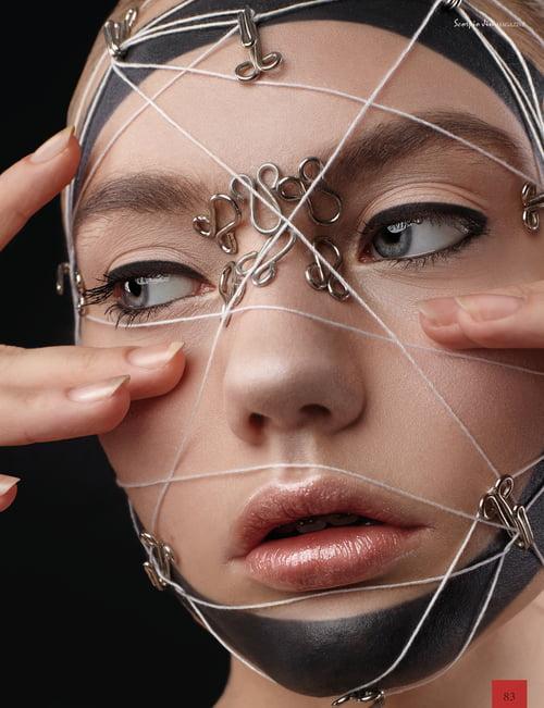 Work  by Scorpio Jin Magazine, Kopachenko Irina, Anastasia Zvyagina, Polina Pasmituhova