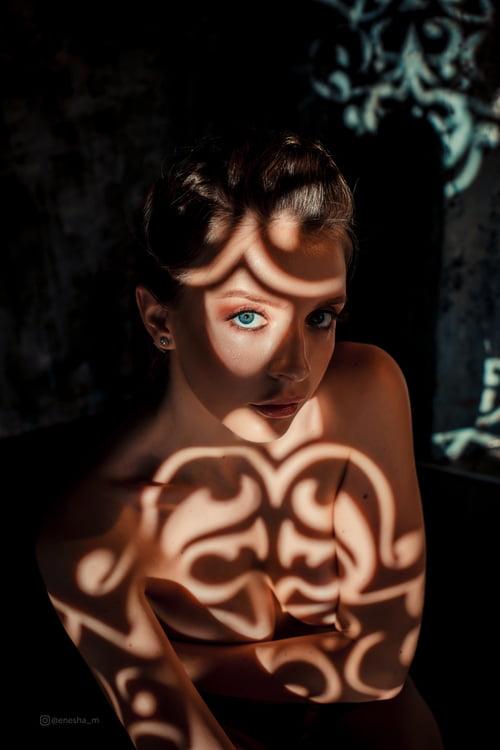 Work  by Maria Polovinchikova, Enesha Meredova, Natalia Racheeva