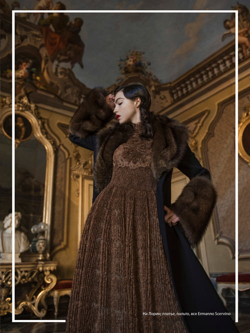 L'Officiel Azerbaijan - Winter in castle   by Virginia Di Mauro, Lauren Pereira