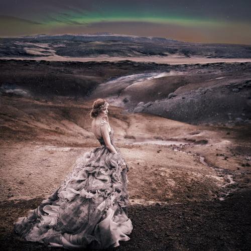 Aurora Borealis    by Ivonne Carlo Sellés Starbuck, Miss Aniela, Minna Attala, Grace Gray, Grace Gray