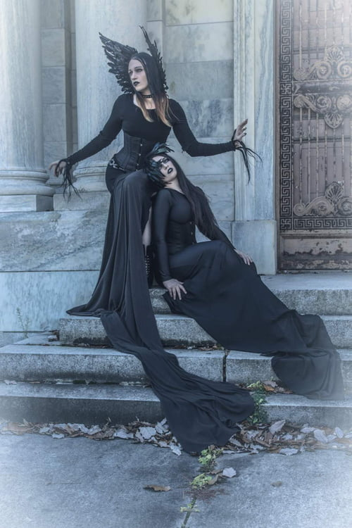 Work  by Laura Dark, Manzin, Odette Despairr, Darkspectre Custom Couture And Props