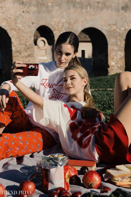 """Red""    by Trend Privé Magazine, Kevin Del Rosario, Francesca Basili, Amor Del Rosario,  Gabriella Piluso, Martina De Luca,  Isa, Lorenza"