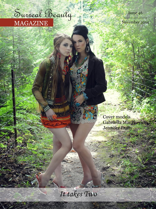 Work  by Michele Taras @michele_taras, Gabriella Macpherson of Sherrida Model mgmt, Jennifer Duffy, Lisa Ann Torti, Bracelet by Monikque Couture Jewellery , Michele Taras