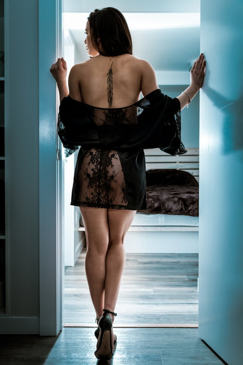 Bad view and blue   by samuel and virginie svphotograph, Claudia Martinez, La Senza, Makeupforever