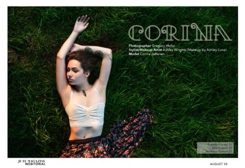 Corina published in Jute Magazine    by Ashley Luna, Corina Jaffarian, Gregory T. Hollar