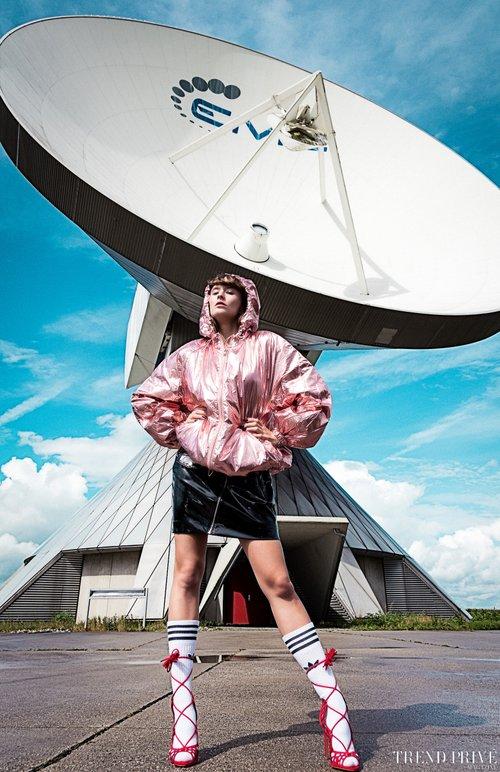 """Radar Screen"" by Andi Papadopoulos   by Trend Privé Magazine, Andi Papadopoulos, Alexandra Fechner, Melanie Huber"