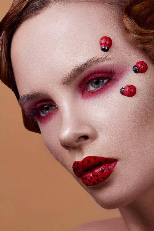 """""""As wild as a ladybug"""" for Glow Magazine    by Focused On Beauty, Agnieszka Krzyzowska, Natalia Szura"""