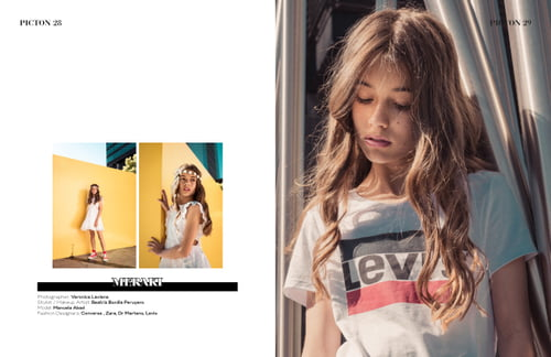 Work  by Veronica Laviana, Beatriz Bonilla Peruyero, Zara
