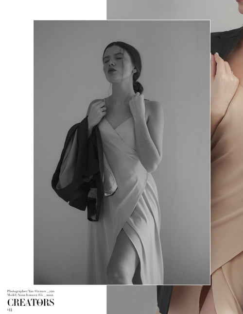 Work  by Yan , Anna Ivanova, Creators Magazine
