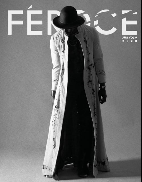 Cover vol 9    by Mickael / Snake Ninja, Justine Sirabella, Édouard Llonch, Riccardo Riccio, Féroce Magazine