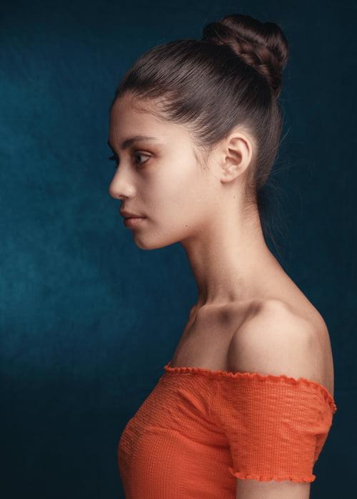 Model: Anita M, Bookings Models    by Faz Rahman , Ivan Weiss