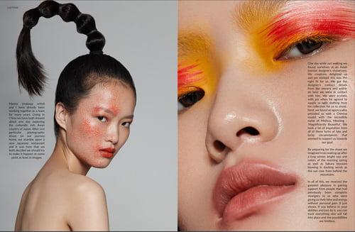 Work  by Diana Shava, Marina Karpacheva, LUCY'S Magazine, Meihua Liu