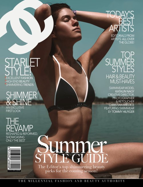 Published in COCO Magazine   Model: Katalin Nagy Creative Director/Photographer/Retoucher: Christian Bredice Swimsuit: Tommy Hilfiger    by Katalin Nagy, Christian Bredice
