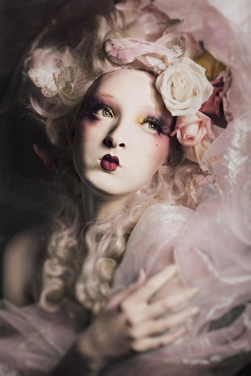 Work  by Ivonne Carlo Sellés Starbuck, Angélica Fabiola, Radikal Makeup