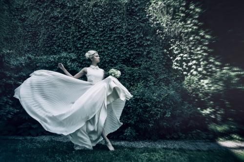 Secret Garden editorial     by Talea Couture, Monica Antonelli, Monia Pedretti, Kristina Romanova, Silvia Ileana Stella, Stefano De Barbieri