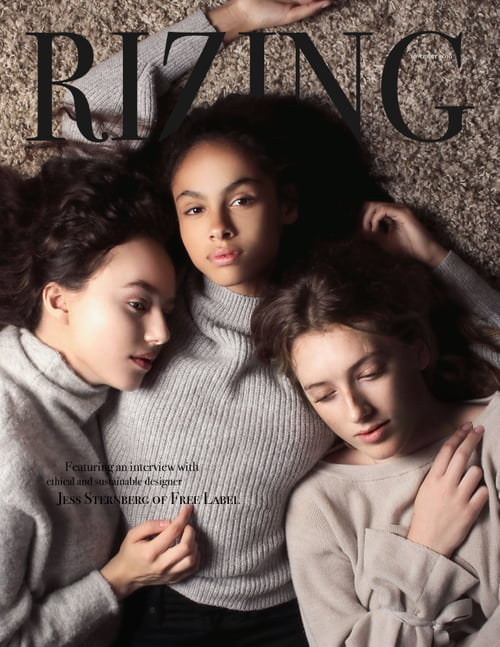 November 2018 Cover   by RIZING MAGAZINE, Dayna Weststeyn , Connally McDougall, Jocelyn Visser, Mickey Marie, Maya Gatensby, Julia Vigini