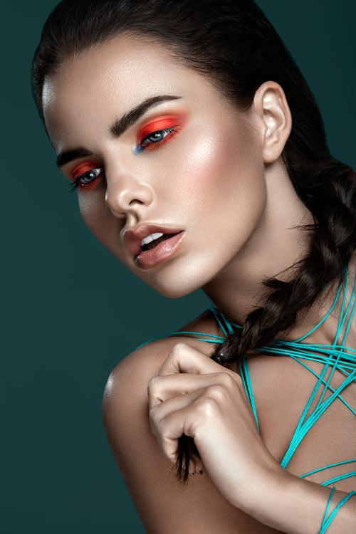 Work  by Lidiya Gubatenko Retoucher, Elléments Magazine, Veronika Vera , Inga Pašviestytė, Bobby V Caparas Make Up