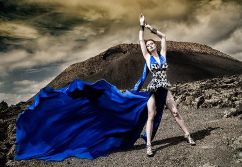 Grace vs the Volcano   by Ivonne Carlo Sellés Starbuck, Grace Gray, Grace Gray, Divamp Couture & Miss Aniela, Minna Attala, Miss Aniela