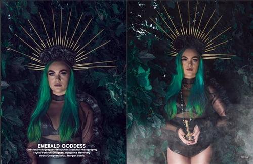 Work  by BlackKat Photography , Maryanne Meservey , Féroce Magazine, Morgan Bostic