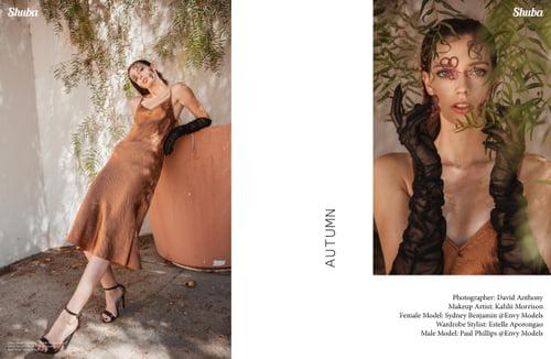 Work  by Sydney Benjamin, David Anthony, Kahlii Morrison, Estelle Aporongao