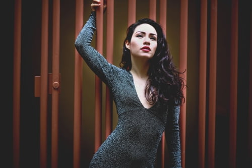 Work  by Corri Chella, Model: 'Diana' London 2018