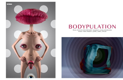 Work  by Ruslan Kolodenskiy,  Nikki Riddle , BEYONDall