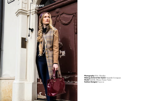 Work  by Felix Abrudan, Gaya-ne, VOLANT Magazine, Isabella Allram, Amanda Gevorgyan